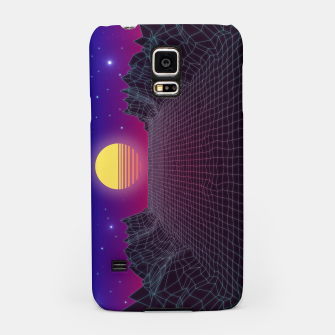 Thumbnail image of Synthwave Sunset Samsung Case, Live Heroes