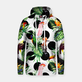 Thumbnail image of Tropical Birds Hoodie, Live Heroes