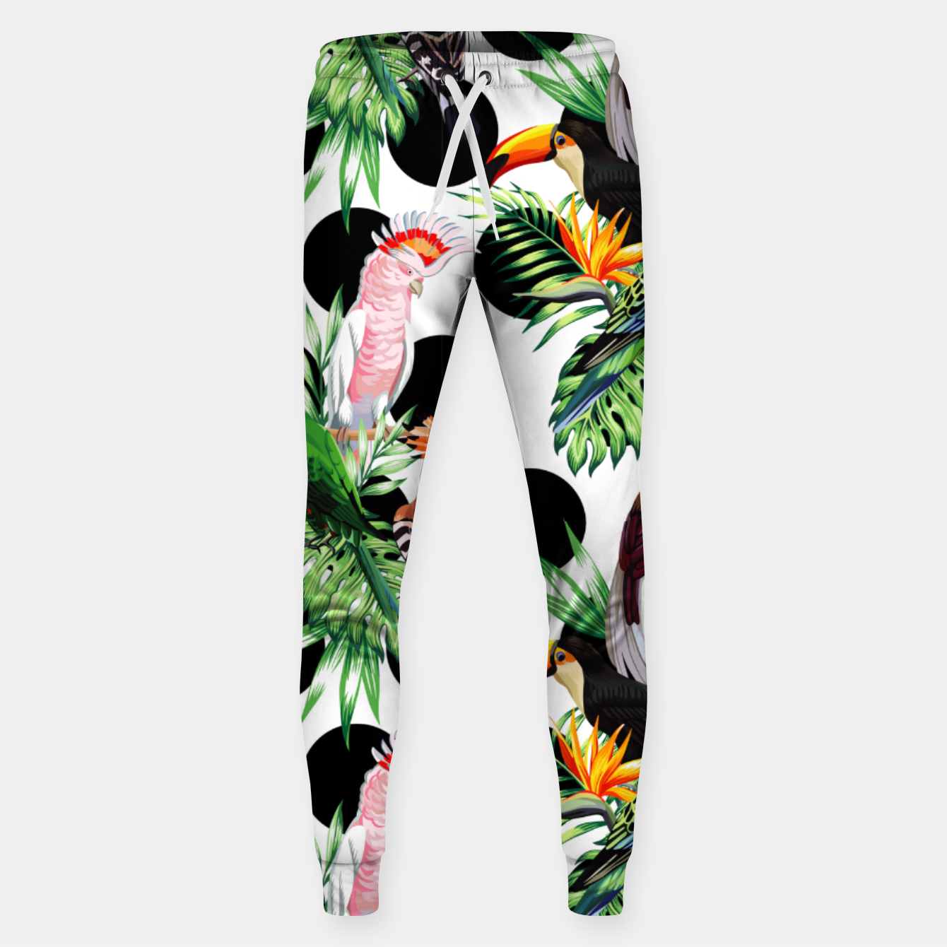 Image of Tropical Birds Sweatpants - Live Heroes