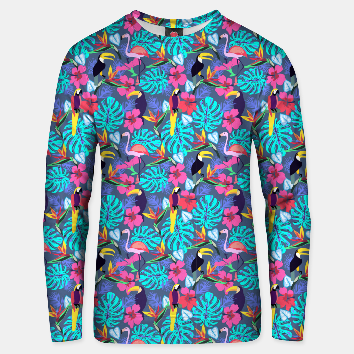 Image of Tropical Plants Unisex sweater - Live Heroes