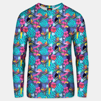Miniatur Tropical Plants Unisex sweater, Live Heroes