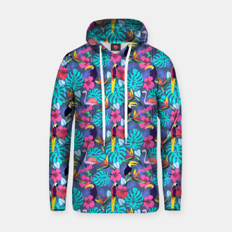 Thumbnail image of Tropical Plants Hoodie, Live Heroes
