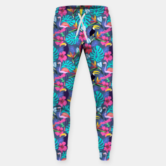 Miniaturka Tropical Plants Sweatpants, Live Heroes