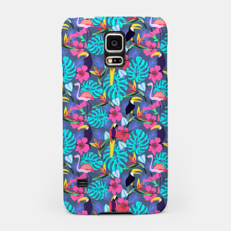 Tropical Plants Samsung Case Bild der Miniatur