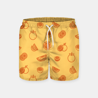 Thumbnail image of Orange Badeshorts, Live Heroes