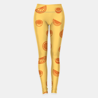 Orange Leggings Bild der Miniatur