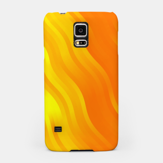 Thumbnail image of wavy lines pattern yo Samsung Case, Live Heroes
