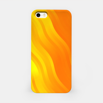 Thumbnail image of wavy lines pattern yo iPhone Case, Live Heroes