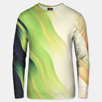 Thumbnail image of wavy lines pattern r7 Unisex sweater, Live Heroes