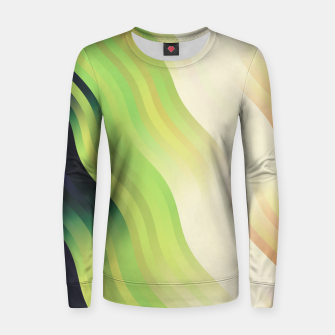 Thumbnail image of wavy lines pattern r7 Women sweater, Live Heroes