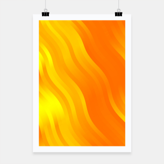 Thumbnail image of wavy lines pattern yo Poster, Live Heroes