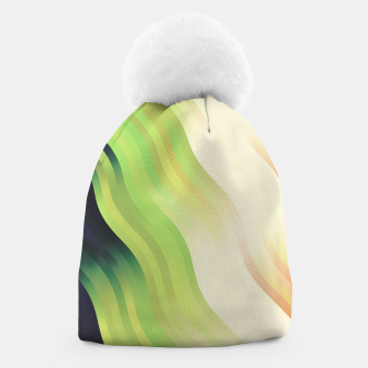 Thumbnail image of wavy lines pattern r7 Beanie, Live Heroes