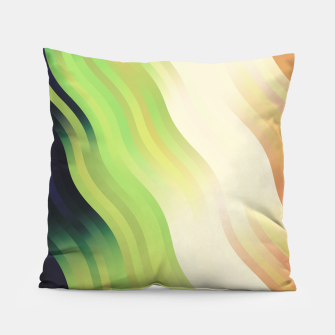 Thumbnail image of wavy lines pattern r7 Pillow, Live Heroes