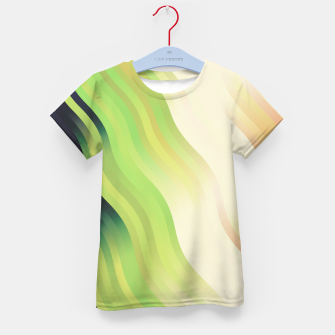 Thumbnail image of wavy lines pattern r7 Kid's t-shirt, Live Heroes