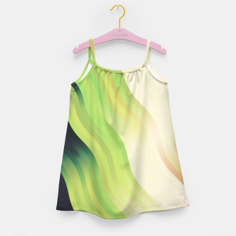 Thumbnail image of wavy lines pattern r7 Girl's dress, Live Heroes