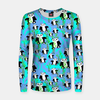 Thumbnail image of Panda Bears Women sweater, Live Heroes
