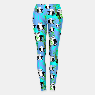 Thumbnail image of Panda Bears Leggings, Live Heroes