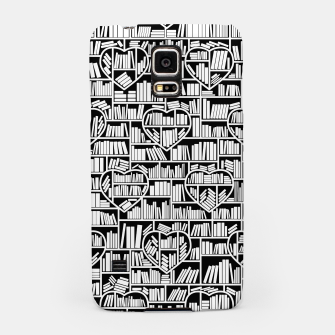 Thumbnail image of Book Lover Heart Library Pattern Samsung Case, Live Heroes