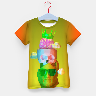 Thumbnail image of Thinking of Summer Kid's t-shirt, Live Heroes
