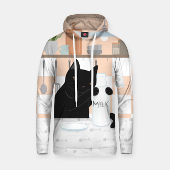 Thumbnail image of Sweet Milky Morning on Cat's Kitchen Hoodie, Live Heroes