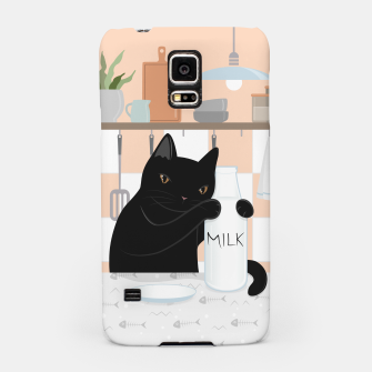 Thumbnail image of Sweet Milky Morning on Cat's Kitchen Samsung Case, Live Heroes