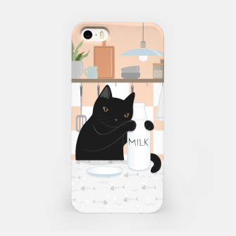 Thumbnail image of Sweet Milky Morning on Cat's Kitchen iPhone Case, Live Heroes