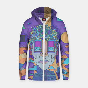Thumbnail image of Run & Fun  Zip up hoodie, Live Heroes