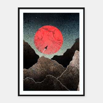 Thumbnail image of Uncharted world Framed poster, Live Heroes