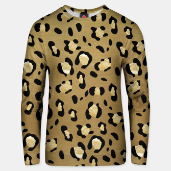 Leopard Animal Print Glam #1 #pattern #decor #art  Unisex sweatshirt thumbnail image
