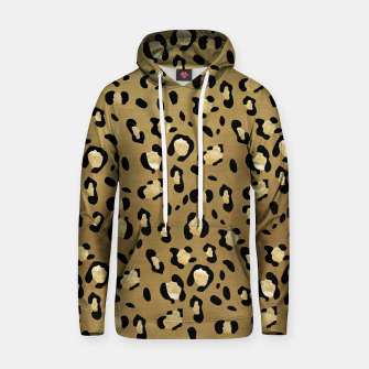 Leopard Animal Print Glam #1 #pattern #decor #art  Kapuzenpullover thumbnail image