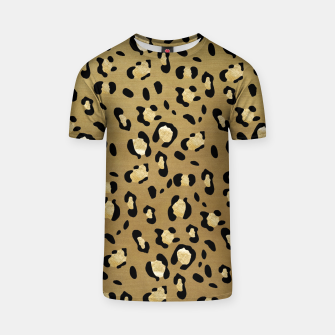 Leopard Animal Print Glam #1 #pattern #decor #art  T-Shirt thumbnail image