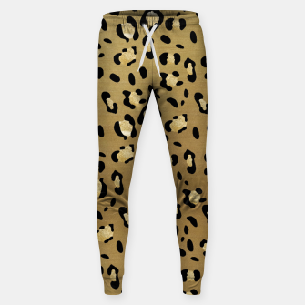 Leopard Animal Print Glam #1 #pattern #decor #art  Hosen thumbnail image