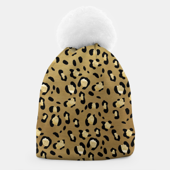 Leopard Animal Print Glam #1 #pattern #decor #art  Mütze thumbnail image