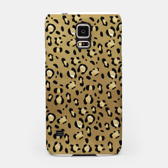 Leopard Animal Print Glam #1 #pattern #decor #art  Handyhülle für Samsung thumbnail image