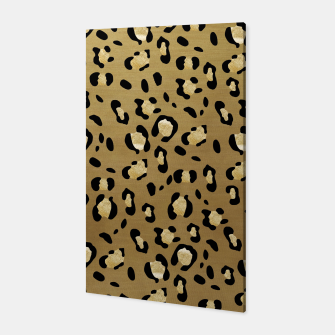 Leopard Animal Print Glam #1 #pattern #decor #art  Canvas thumbnail image