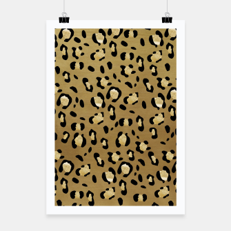 Thumbnail image of Leopard Animal Print Glam #1 #pattern #decor #art  Plakat, Live Heroes