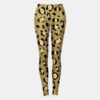 Thumbnail image of Leopard Animal Print Glam #1 #pattern #decor #art  Leggings, Live Heroes