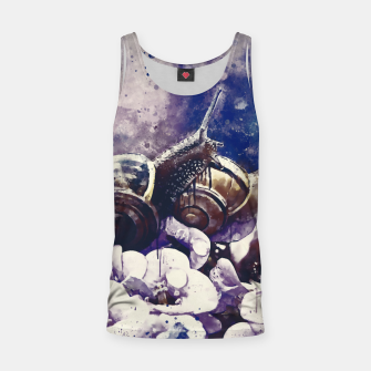 Thumbnail image of two snails make love wsfn Tank Top, Live Heroes