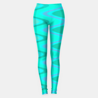 Turquoise Curves Leggings thumbnail image