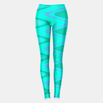 Thumbnail image of Turquoise Curves Leggings, Live Heroes