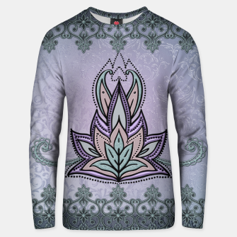 Thumbnail image of Wonderful abstract flower, mandala Unisex sweater, Live Heroes