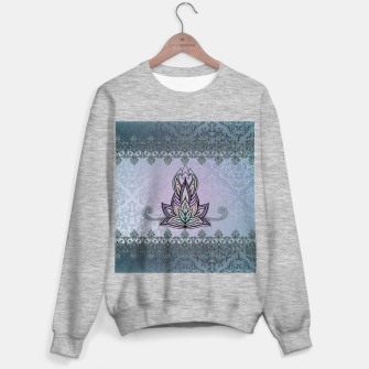 Thumbnail image of Wonderful abstract flower, mandala Sweater regular, Live Heroes