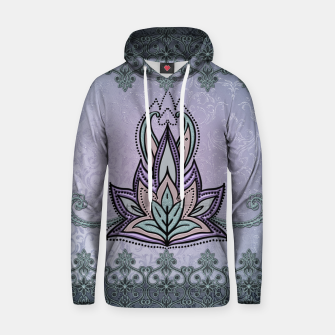 Thumbnail image of Wonderful abstract flower, mandala Hoodie, Live Heroes