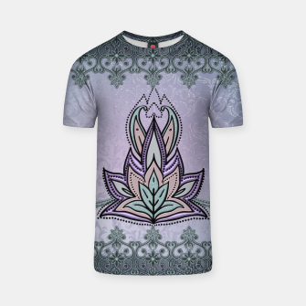 Thumbnail image of Wonderful abstract flower, mandala T-shirt, Live Heroes