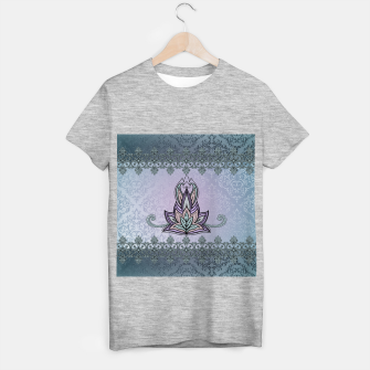 Thumbnail image of Wonderful abstract flower, mandala T-shirt regular, Live Heroes