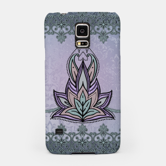 Thumbnail image of Wonderful abstract flower, mandala Samsung Case, Live Heroes