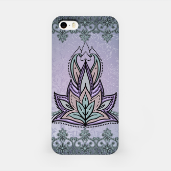 Thumbnail image of Wonderful abstract flower, mandala iPhone Case, Live Heroes