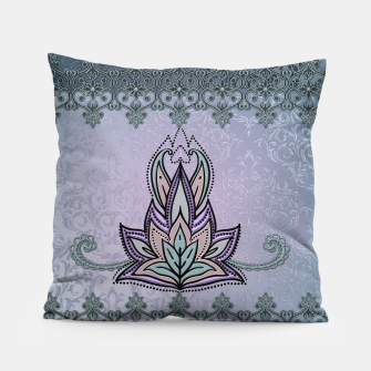Thumbnail image of Wonderful abstract flower, mandala Pillow, Live Heroes