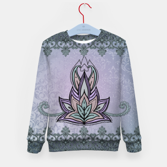 Thumbnail image of Wonderful abstract flower, mandala Kid's sweater, Live Heroes