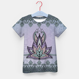 Thumbnail image of Wonderful abstract flower, mandala Kid's t-shirt, Live Heroes